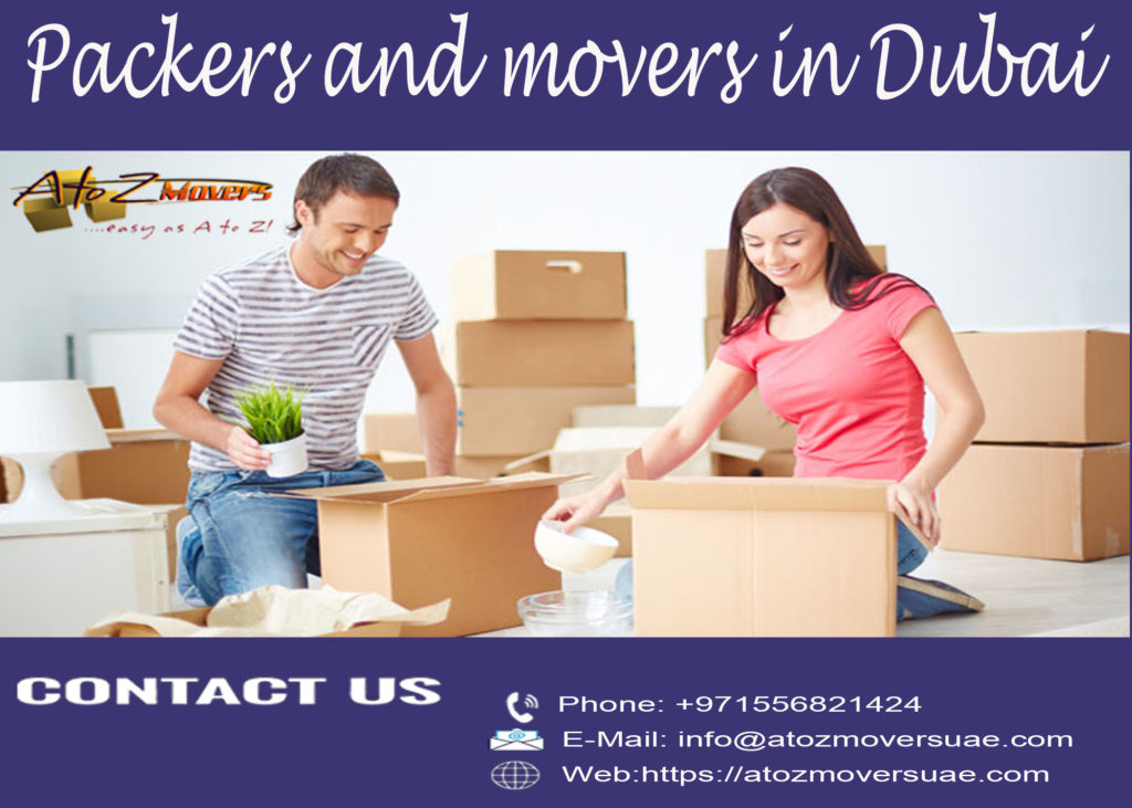 Packers and movers in Dubai, Professional movers in Dubai